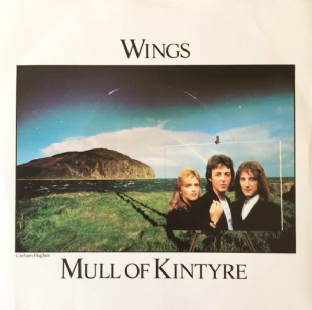 "Wings - Mull Of Kintyre/Girls' School (7"") (VG-EX/VG)"